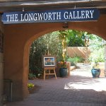The Longworth Gallery is one of the most welcoming spots on Canyon Road