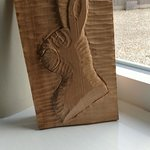 1st attempt at wood carving @ Gorse Farm House B&B