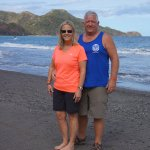 snap shot on the beach in Costa Rica