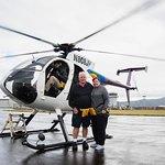 OUR JACK HARTER HELICOPTER AND PILOT KAUAI HAWAII