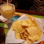 Jumbo margarita and 20 oz Dos XX amber