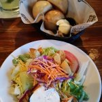 Nice sized salad