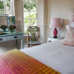 Twin bedded Rose room.