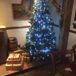 Lovely festive atmosphere and great roast