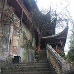 Escalier menant au temple taoïste
