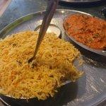 Ginger chicken, paneer briyani & egg briyani