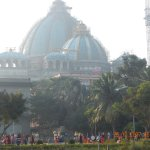 New temple under construction at Iskon Mayapur