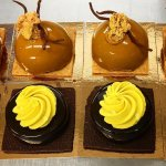 Redroaster coffee dome and Chocolate & Toffee tart