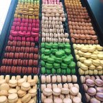 Our selection of 18 macarons