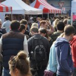 Street market attracts the crowds