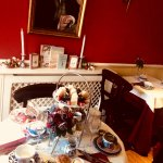 spoil yourslef with Afternoon tea and champagne under Mr Darccys watchful gaze!