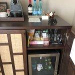 Mini Bar with coffee station