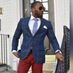 Hand tailored blazer