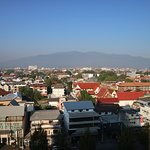 looking at the city and the Doi Inthanon mountain