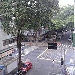 Vista do apartamento - Rep. Perú c/ Barata Ribeiro