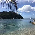 Marigot Bay from the small ferry