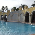 The main pool area
