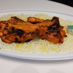 Grilled Chicken Dish with Rice