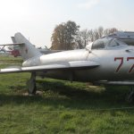 1950's MIG fighter