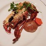 Lobster termidor