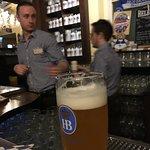 Traditionnelle brasserie Allemande, tout démarre par une bonne petite bière 🍺0,5l