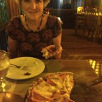 Pizza in Costa Rica.