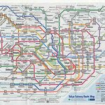 Subway map - it is easier that it looks! The hotel is at the Shinbashi station.