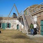 Stairway to Parapet