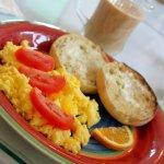A marvelous breakfast