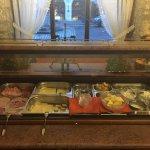 Buffet breakfast selection