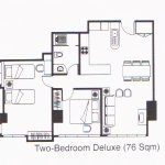 Two Bedroom Deluxe Layout