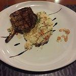risoto siciliano com carne de porco