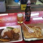 Parata and Nasi Campur