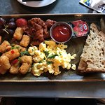 Regular breakfast choice.