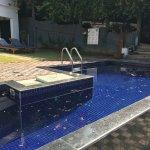 Unclean swimming pool