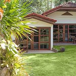 Our cosy bungalows come in twins and doubles