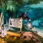Cave Diving in Mexico