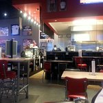 order counter and kitchen area at Fuddruckers