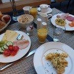Ausbeute vom Frühstücksbuffet