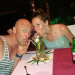 Romantic wedding anniversary