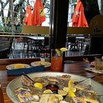 Oysters, Bloody Mary and a great view!