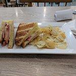 Ham & Cheese sandwich....