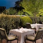 Romantic Evenings awaits you at our delicious restaurant outside in the Terrace