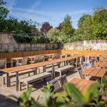Why not come and dine alfresco in arguably one of Bath's finest beer gardens?