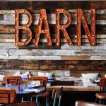 The Cornish Barn restaurant
