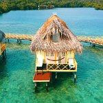 Palafitos sobre el mar Caribbe