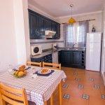 Kitchen & Dining Room- Inc. Microwave, coffee machine, fridge, hob, pots, plates, cutlery and pa