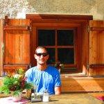 Rob enjoying the Austrian summer in Stubaital.