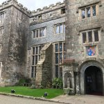 Boringdon Hall front door.