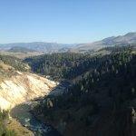 Yellowstone River near picnic area